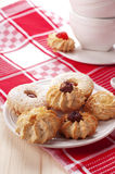 Biscuit. Traditional homemade cookies of Sardinia Stock Images