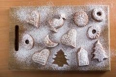 Biscuit absent d'un plat Photos stock