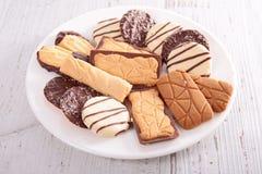 biscuit assorti photographie stock
