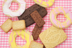 Biscuit assortment Stock Photo