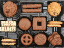 Biscuit assortment Royalty Free Stock Photos