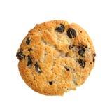 Biscuit avec des puces de chocolat Image libre de droits