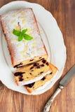 Biscuit avec la myrtille Image stock