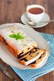 Biscuit avec la myrtille Photo libre de droits