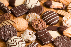Biscuit Background Stock Photography