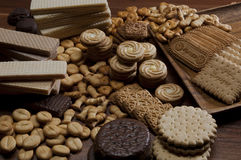 Biscuit Background Royalty Free Stock Photo