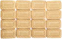 Biscuit Background Stock Image