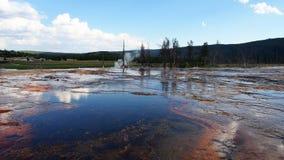 Biscuit Basin, Yellowstone Stock Photo