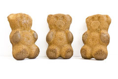 Biscuit bear Royalty Free Stock Images