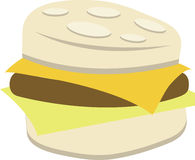 Biscuit Breakfast Sandwich Royalty Free Stock Photo