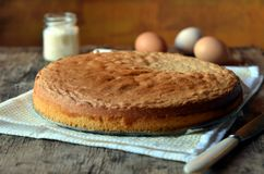 Biscuit cake Stock Photography