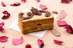 Biscuit cake Stock Images