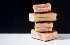 Biscuit cakes Stock Photography