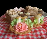 Biscuit cakes Stock Image