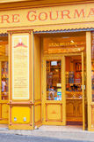 Biscuit and Candy Delicatessen in Montmarte Stock Photos