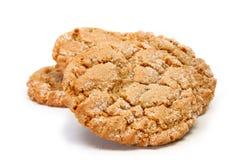 Biscuit caoutchouteux de gingembre images stock