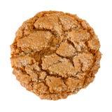 Biscuit caoutchouteux de gingembre image libre de droits