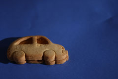 Biscuit car Royalty Free Stock Photos