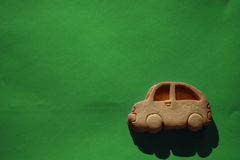 Biscuit car Royalty Free Stock Photo