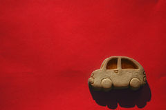 Biscuit car Royalty Free Stock Photography