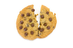 Biscuit cassé Photos stock