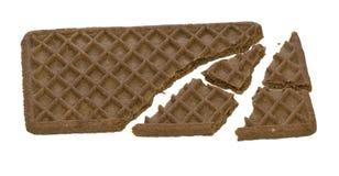 Biscuit cassé Images libres de droits
