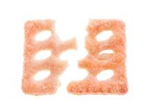 Biscuit cassé Photos libres de droits