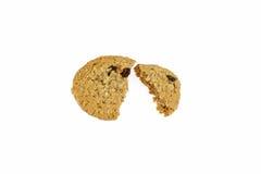 Biscuit cassé Image libre de droits