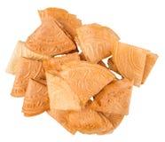 Biscuit chinois X de lettre d'amour Photographie stock libre de droits