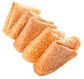 Biscuit chinois VIII de lettre d'amour Image libre de droits