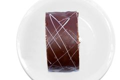 Biscuit Chocolate Cake Royalty Free Stock Image