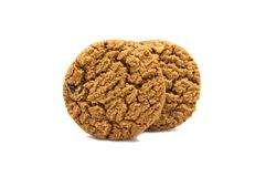Biscuit with chocolate chip butter. royalty free stock photo