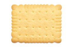 Biscuit with clipping path Stock Photos