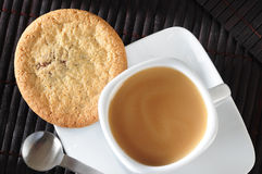 Biscuit and coffee Royalty Free Stock Photography
