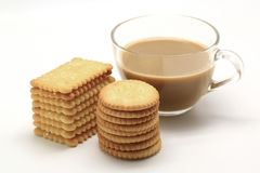 Biscuit and coffee Royalty Free Stock Photo