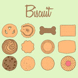 Biscuit Collection Royalty Free Stock Photography