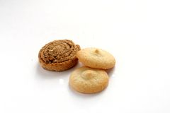 Biscuit and cookies Stock Images