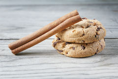 Biscuit cookies cinnamon Stock Images