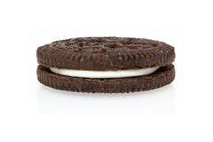 Biscuit crème de chocolat image libre de droits