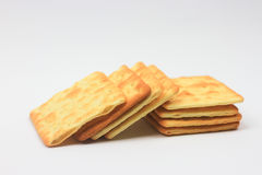 Biscuit crackers Royalty Free Stock Photo