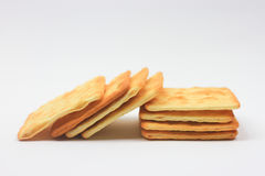 Biscuit crackers Royalty Free Stock Images