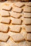 Biscuit croquant sur le fond de vintage Photos libres de droits