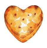 Biscuit croustillant illustration de vecteur