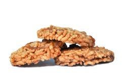 Biscuit croustillant doux thaïlandais de riz Photos stock