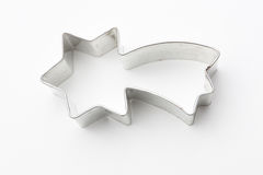 Biscuit cutter (falling star) Stock Photography
