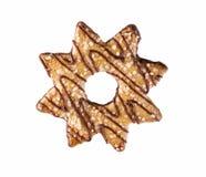 Biscuit d'étoile photo libre de droits