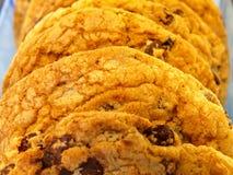Biscuit d'accumulation de chocolat Photographie stock libre de droits
