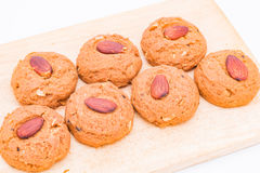 Biscuit d'amande Image libre de droits