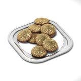 Biscuit d'amaretti de plateau Image libre de droits
