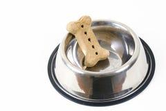 Biscuit dans la cuvette Photos libres de droits